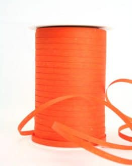 Bast-Raffia orange, 5 mm - raffia, polyband, bastband