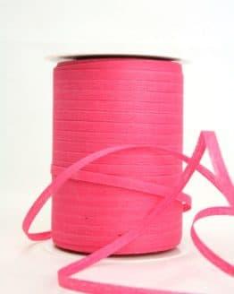 Bast-Raffia pink, 5 mm - raffia, polyband, bastband