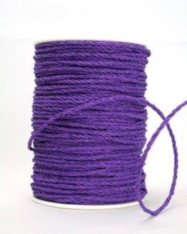 Bastkordel lila, 3 mm - zierkordeln
