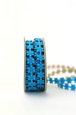 Bluetenborte selbstklebend blau 8mm (594048-8-xx)