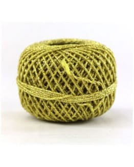 Cordonnet-Kordel, gold, 1 mm breit - zierkordeln