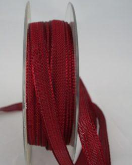 Dekoband bordeaux, 10 mm breit - dekoband