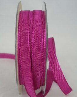 Dekoband dunkelpink, 10 mm breit - dekoband