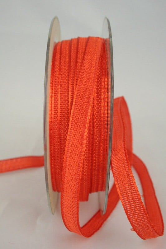 Dekoband orange, 10 mm breit - dekoband