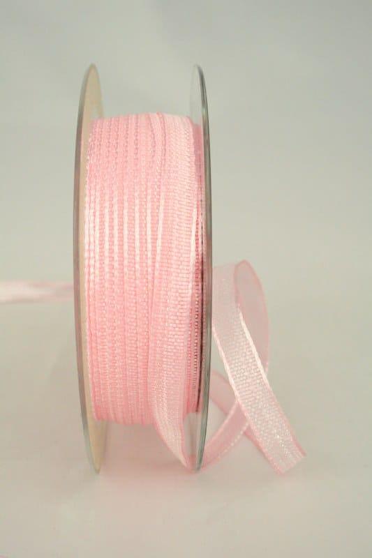 Dekoband rosa, 10 mm breit - dekoband