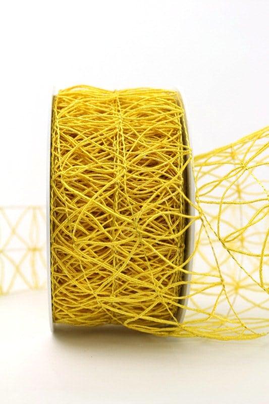 Gitterband gelb, 60 mm - gitterband