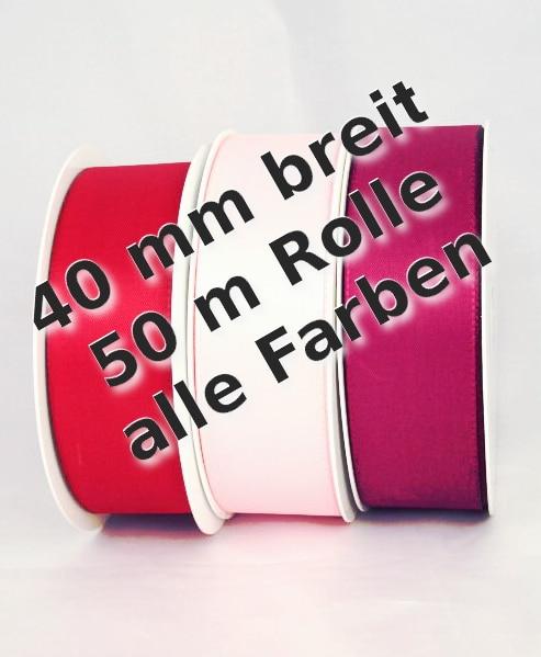 Taftband 40 mm breit - taftband