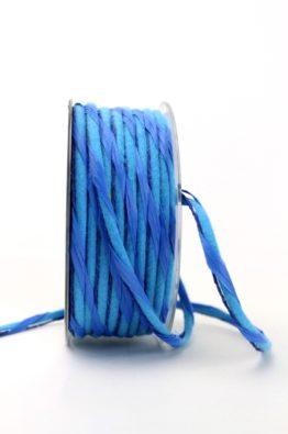 Dekokordel Papier-Filz blau 5mm (84787-5-32)