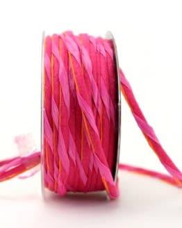 Dekokordel pink, 5 mm - kordeln