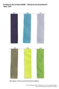 Farben 94099 Taftband mit Drahtkante New Taft_2 -