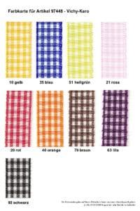 Farben 97448 Vichy-Karo-DekoBand