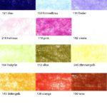 Farben bei Dekoband aus Vlies -