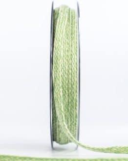 Flechtband, grün, 20 mm breit - dekoband