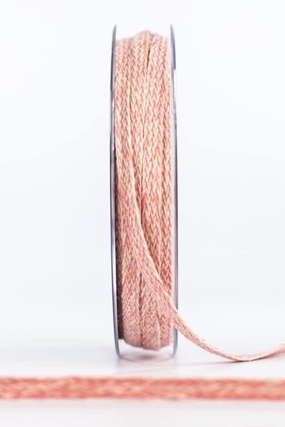 Flechtband, rosa, 20 mm breit - dekoband