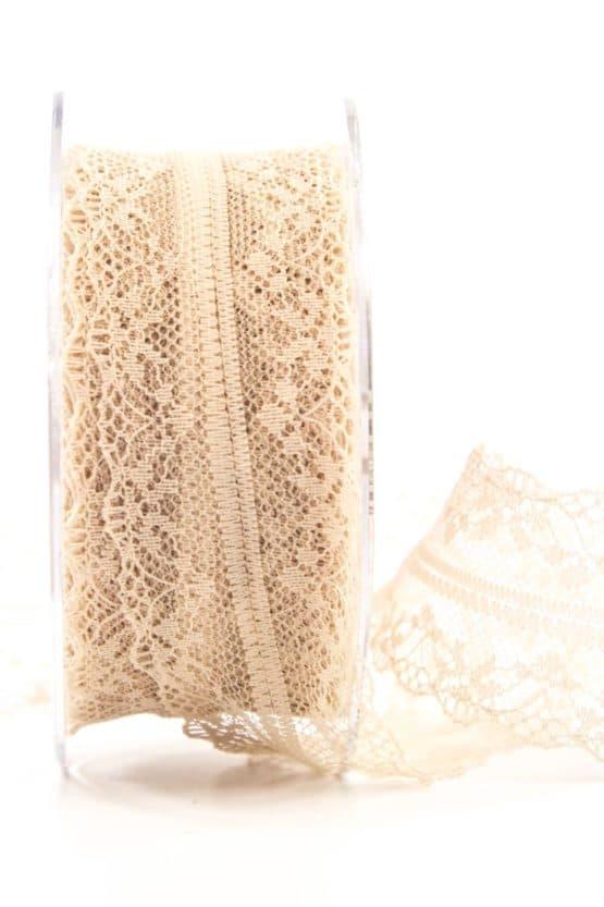 Feine Spitze, weiß, 40 mm breit - spitzenbaender, hochzeit