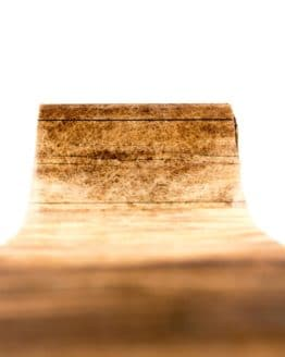 Vliesband Holz, 80 mm breit - vliesband, dekoband