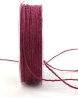 Jute-Kordel/Schnur, beere, 1,5 mm breit - zierkordeln