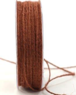 Jute-Kordel/Schnur, braun, 1,5 mm breit - zierkordeln