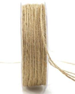 Jute-Kordel/Schnur, natur, 1,5 mm breit - zierkordeln
