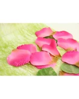 Künstliche Rosenblätter, dunkelrosa - hochzeitsdeko