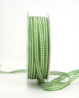 Vichy-Karoband gün, 6 mm breit - karoband, karierte-baender, geschenkband-kariert