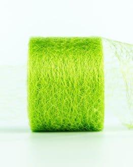Netzband, hellgrün, 70 mm breit - outdoor-baender, netzband, geschenkband-einfarbig, dekoband