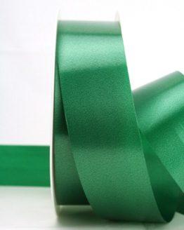 Wetterfestes Schleifenband grün, 40 mm - polyband, outdoor-baender