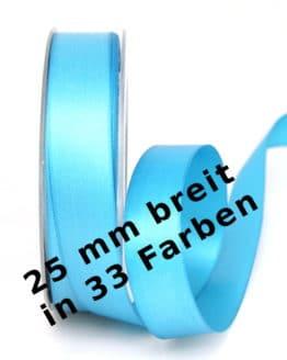 Satinband 25 mm breit - satinband
