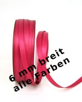 Satinband 6 mm breit - satinband
