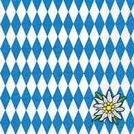 Serviette Bavaria - servietten, oktoberfest