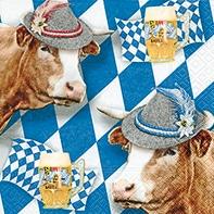 Serviette Wiesngaudi - servietten, oktoberfest
