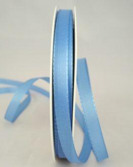 Dekoband Taftband, 10 mm breit, hellblau - taftband