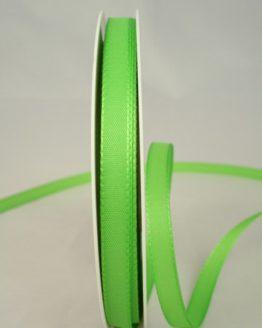 Dekoband Taftband, 10 mm breit, hellgrün - taftband