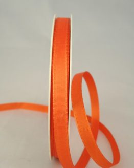 Dekoband Taftband, 10 mm breit, orange - taftband