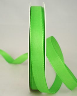 Dekoband Taftband, 15 mm breit, hellgrün - taftband