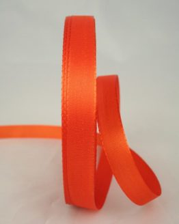 Dekoband Taftband, 15 mm breit, orange - taftband