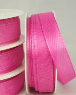 Taftband pink, 15 mm breit - taftband