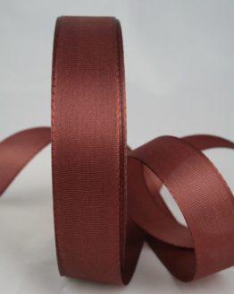 Dekoband Taftband, 25 mm breit, braun - taftband