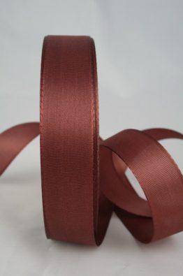 Taftband 25mm braun_(14063-25-431)