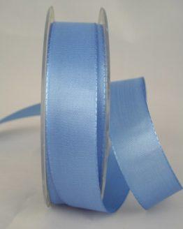 Dekoband Taftband, 25 mm breit, hellblau - taftband