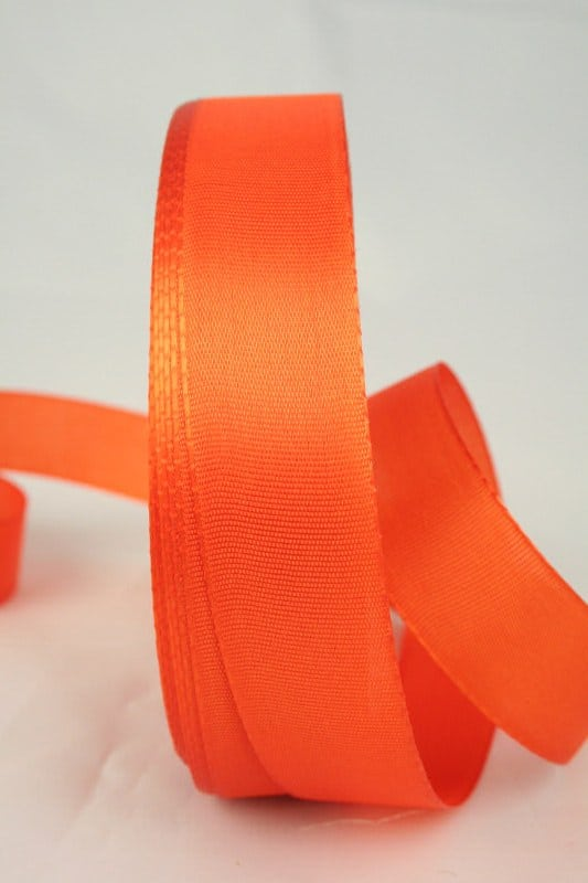 Taftband 25mm orange_(14063-25-270)