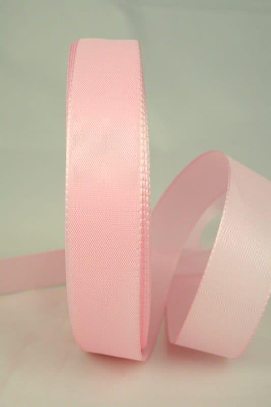 Dekoband Taftband, 25 mm breit, rosa - taftband