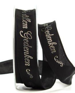 """Trauerband """"In stillem Gedenken"""", 25 mm breit - trauerband"""